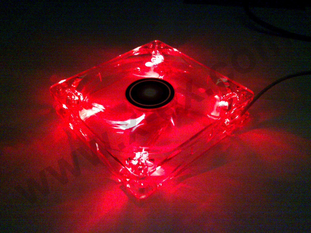 Xilence 120mm Red Led Super Silent Case Fan Quiet 12cm